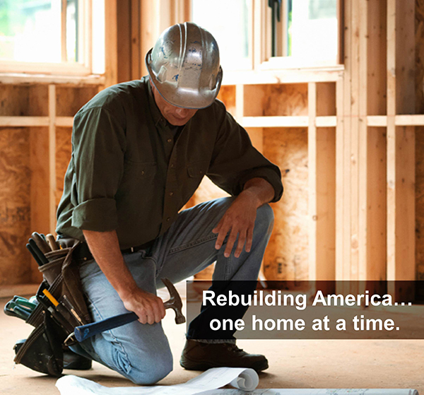 Rebuilding America One Home At A Time | Simplifying The Market